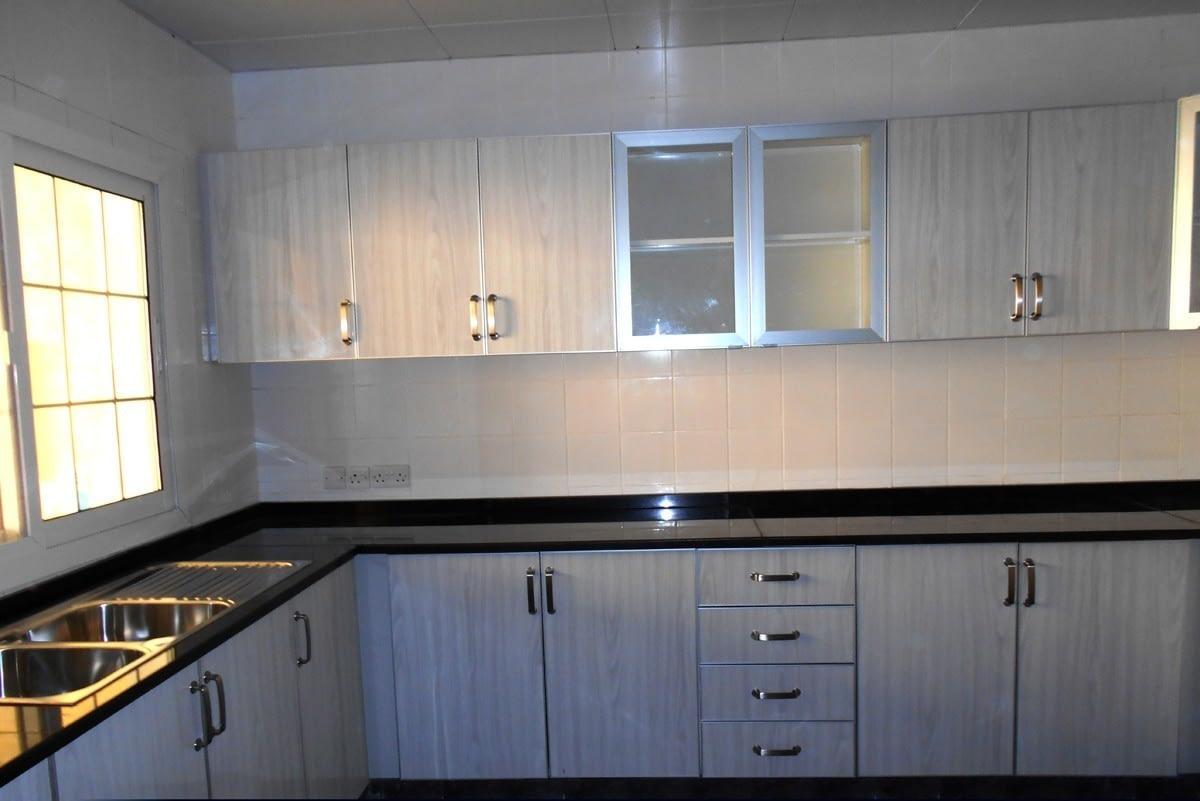 Aluminium kitchen wooden finish type: Alustar