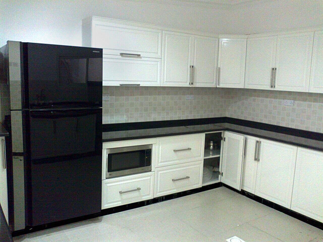 Aluminium kitchen Ral finish type: Alutech