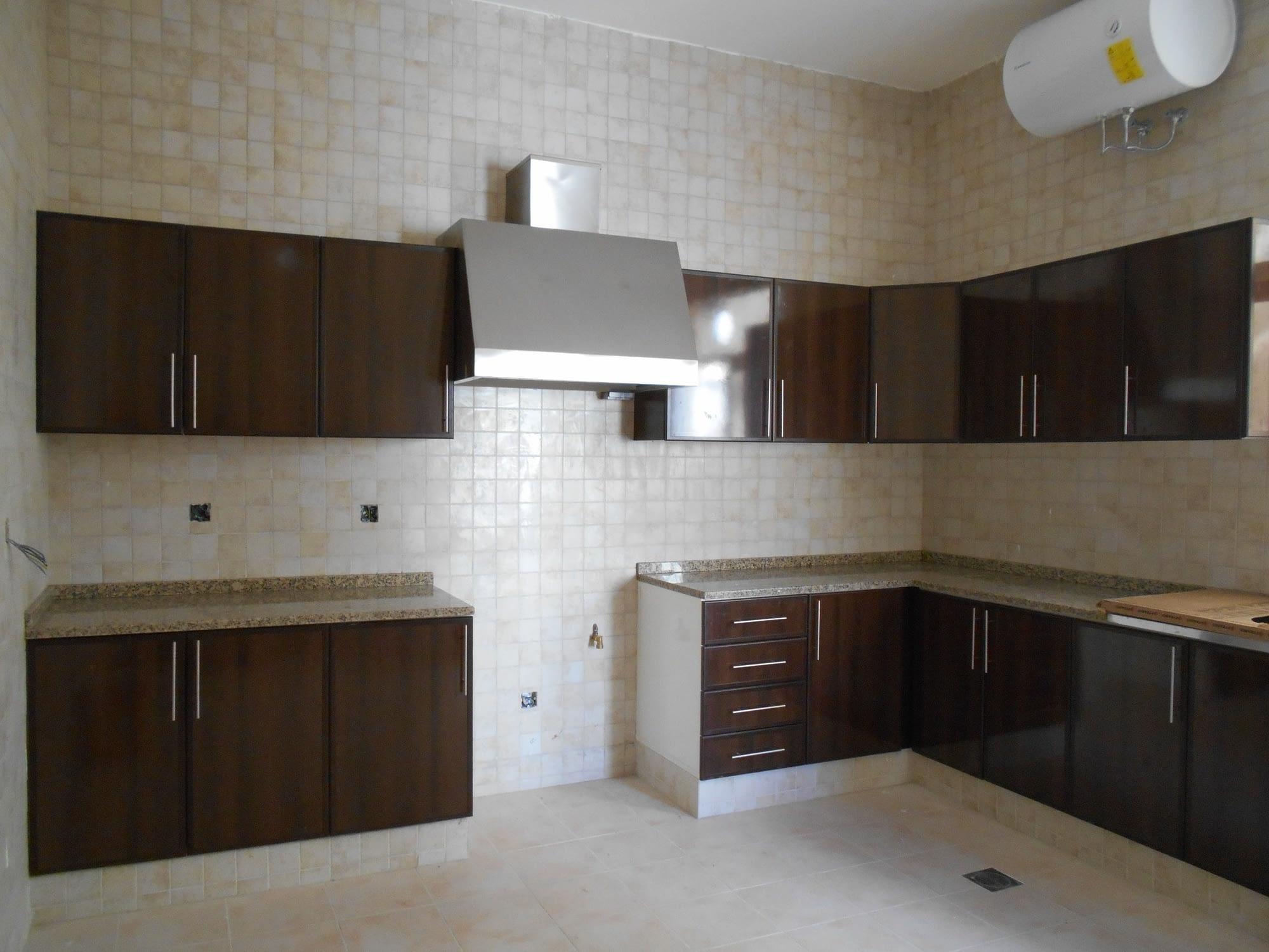 Aluminum Kitchen wooden Finish type: Alulight