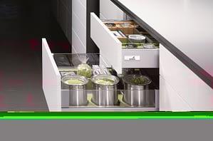 Matte and Glossy Kitchen Cabinets