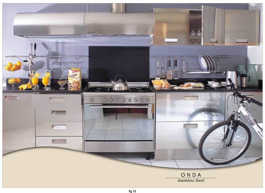 Stainless Steel Kitchens - Italy